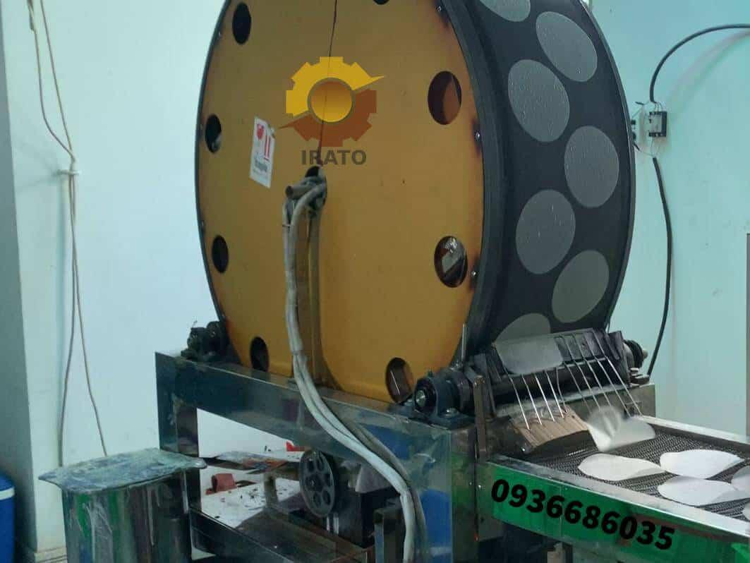 máy tráng bánh bò bía tự dộng 12000banh/h