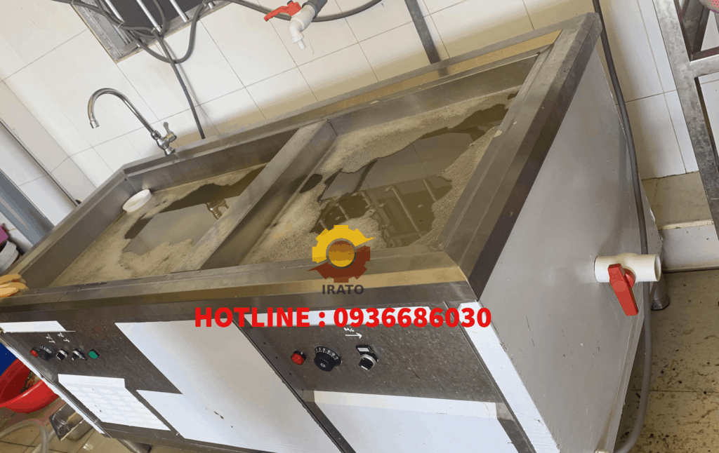 Máy rửa chén bát cho quán ăn, nhà hàng