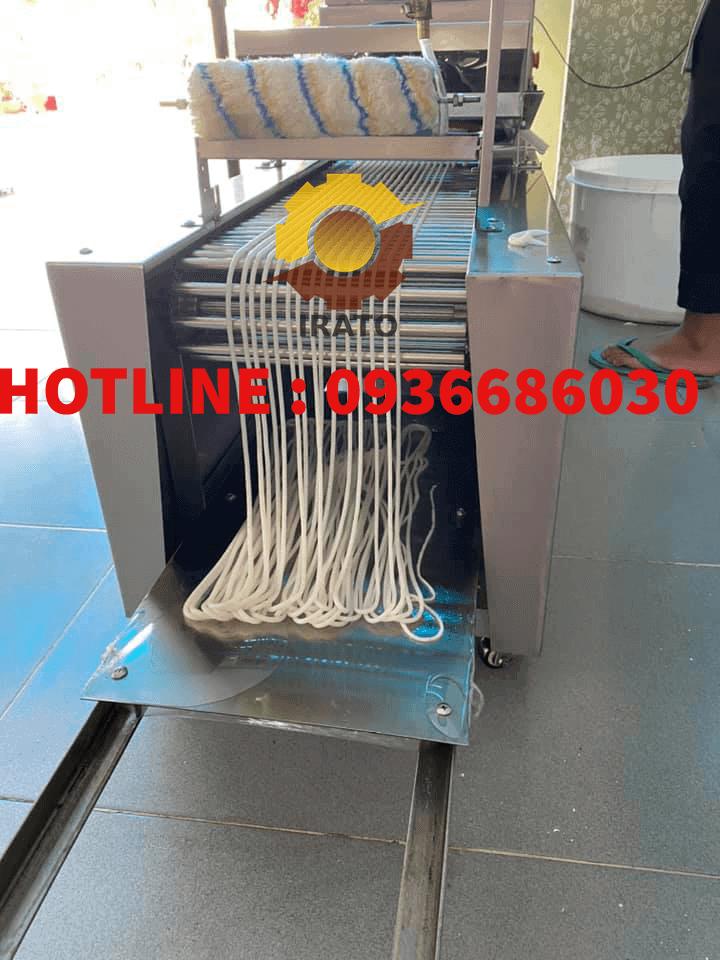 phở bún tươi làm bằng máy IRATO 9in1 model 2020