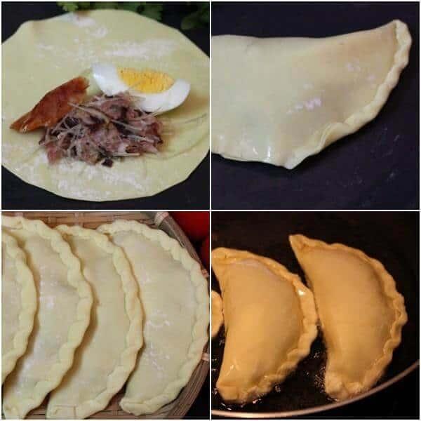 bánh gối chiên