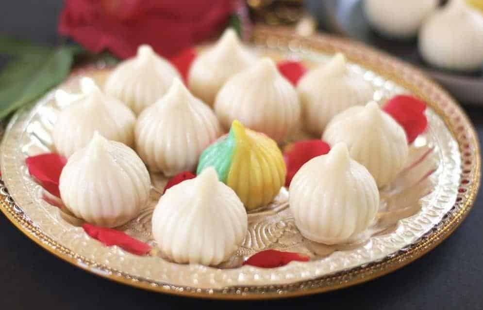Bánh bao Modak truyền thống của Ấn Độ