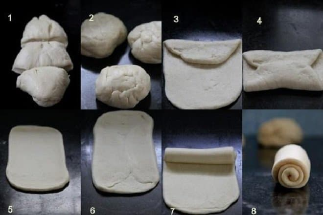 Cách làm bánh bao sữa Hokkaido