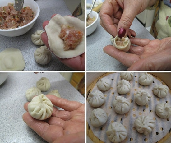 Cách gói Dumpling