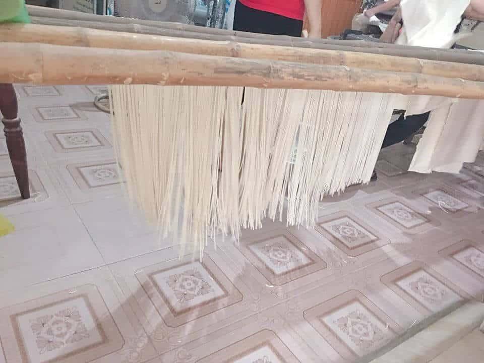 Cơ sở sản xuất bánh canh bột mì, bánh canh khô, mì sợi thủ công