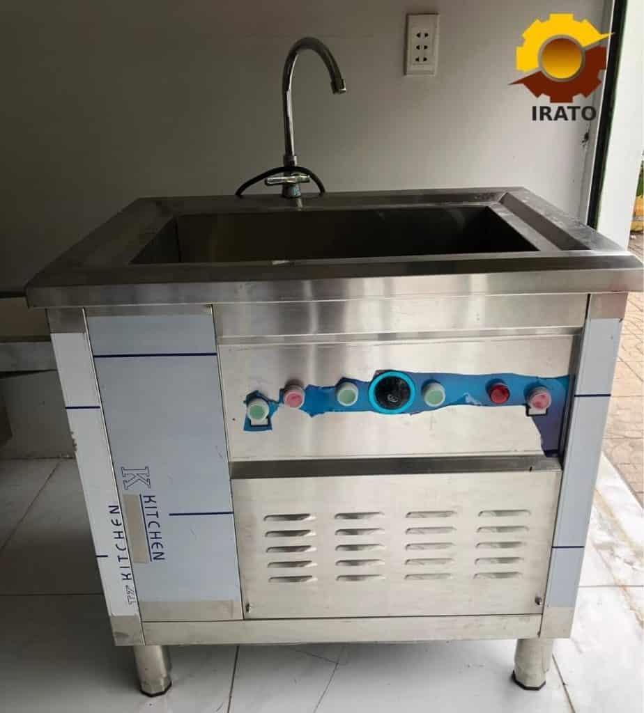 máy rửa chén - máy rửa rau 2in1 Irato dành cho quán ăn