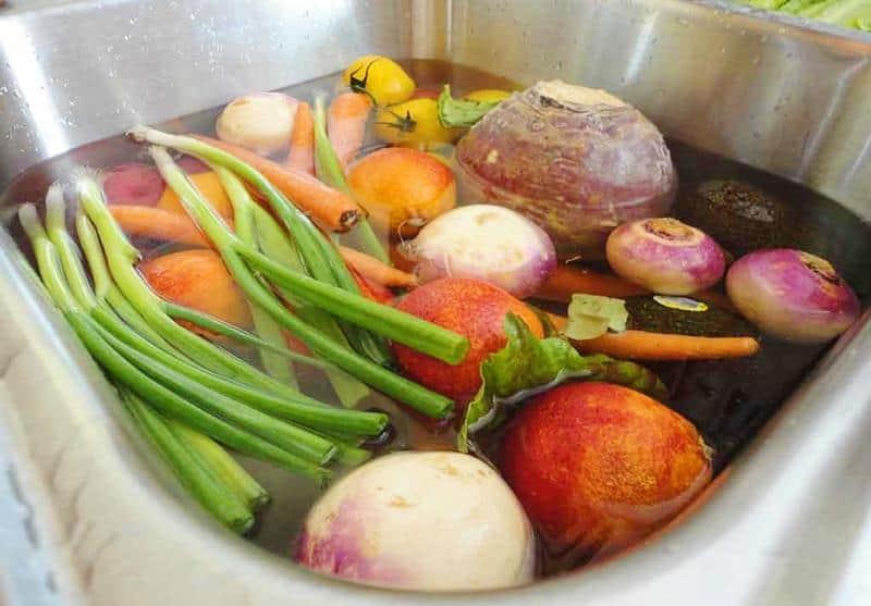 Bí quyết rửa rau củ quả sạch